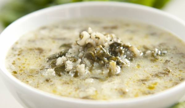 rice-spinach-soup